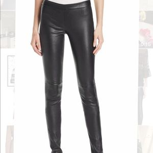 Theory Lather Pants Black With Tag
